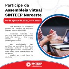 Assembleia Virtual Sinteep Noroeste